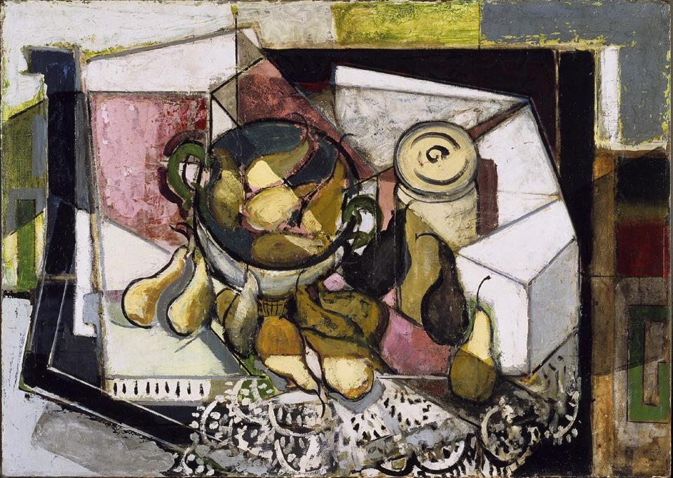 "Maurer's ""Still Life With Pears.''"